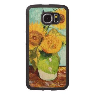 Three Sunflowers by Van Gogh Fine Art