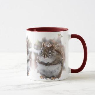 Three Sweet Squirrels Mug
