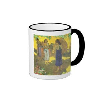 Three Tahitian Women against a Yellow Mug