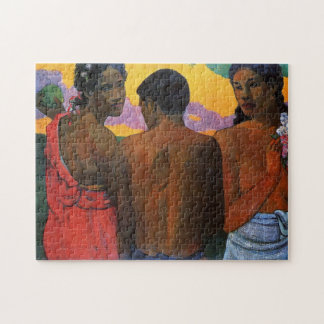 'Three Tahitians' - Paul Gauguin Jigsaw Puzzle