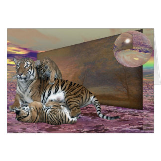 Three Tigers Card