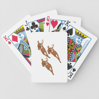 Three to Run Bicycle Playing Cards