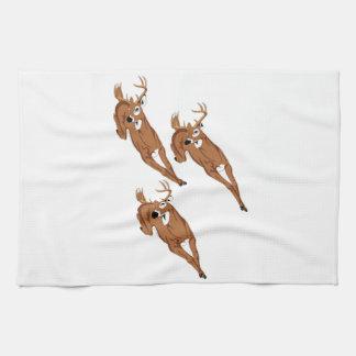 Three to Run Hand Towel