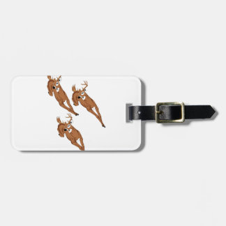 Three to Run Luggage Tag