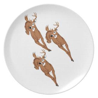 Three to Run Plates