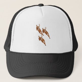 Three to Run Trucker Hat
