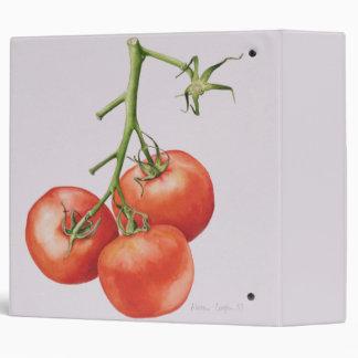 Three Tomatoes on the Vine 1997 Binder