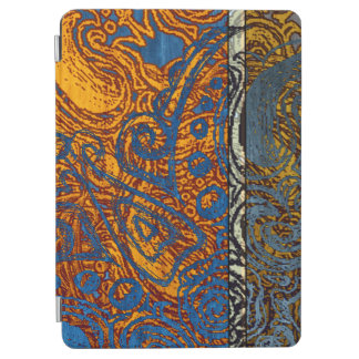 "Three Tone Blue Jean Swirl 9.7"" iPad Pro Cover"