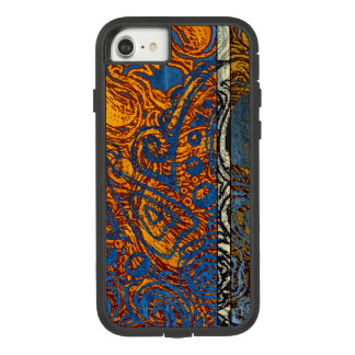 Three Tone Blue Jean Swirl Case-Mate Tough Extreme iPhone 8/7 Case