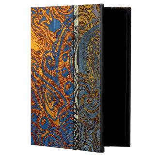 Three Tone Blue Jean Swirl iPad Air Case