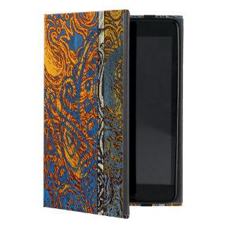 Three Tone Blue Jean Swirl iPad Mini Case