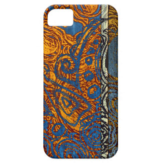 Three Tone Blue Jean Swirl iPhone 5 Case