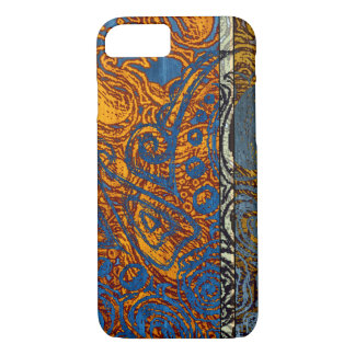 Three Tone Blue Jean Swirl iPhone 8/7 Case