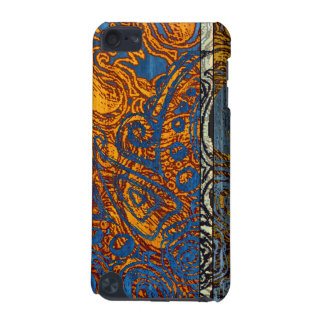 Three Tone Blue Jean Swirl iPod Touch (5th Generation) Cover