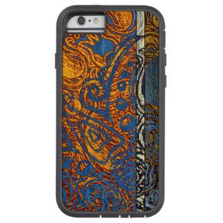 Three Tone Blue Jean Swirl Tough Xtreme iPhone 6 Case