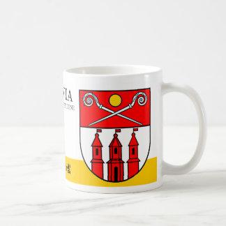 Three Towers under Magic Sun from Piltene Latvia Coffee Mug