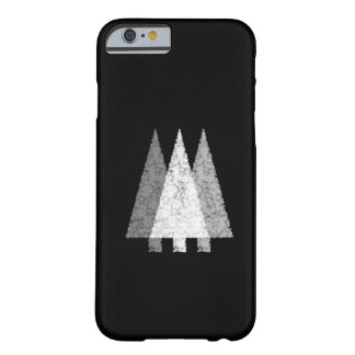 Three Trees in Black and White. Barely There iPhone 6 Case