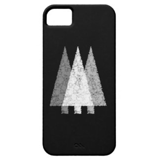 Three Trees in Black and White. iPhone 5 Covers