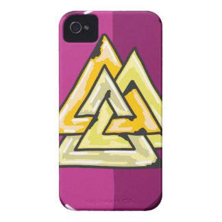 Three Triangles Shield Sketch Case-Mate iPhone 4 Case