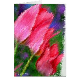 Three Tulips-Card Card