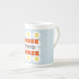 Three two three Mug