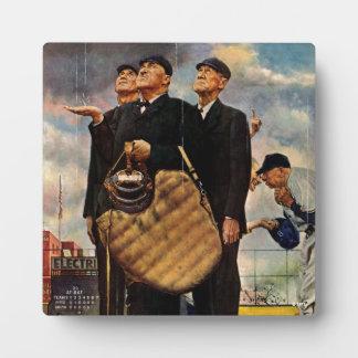 Three Umpires Plaque