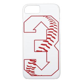 Three Up, Three Down Baseball Saying Custom iPhone 8/7 Case
