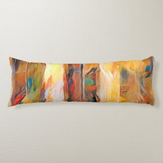 Three Windows of Emotion, abstract expression Body Pillow
