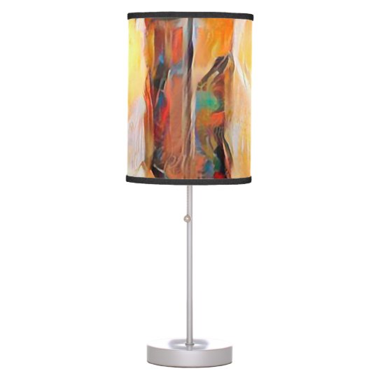 Three Windows of Emotion, abstract expression Desk Lamps
