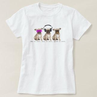Three Wise Bull Dogs T-Shirt