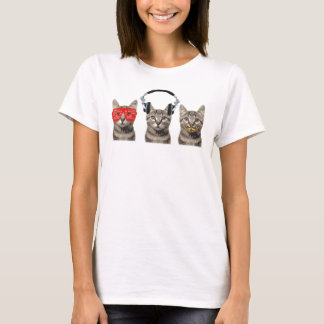 Three Wise Cats T-Shirt