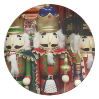 Three Wise Crackers - Nutcracker Soldiers Plate