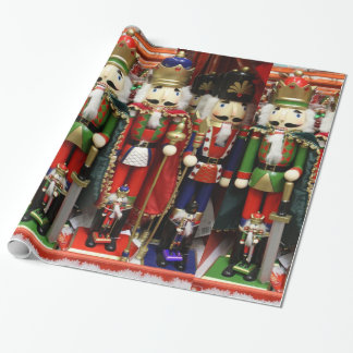 Three Wise Crackers Wrapping Paper