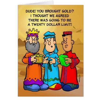 Three Wise Guys Card