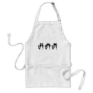 Three Wise Kitties Standard Apron