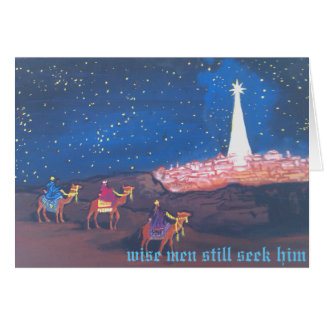 Three Wise Men Card