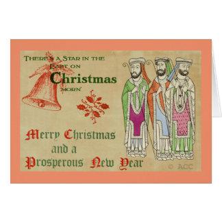 Three Wise Men / Merry Christmas Card