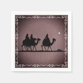 Three Wise Men Paper Napkin