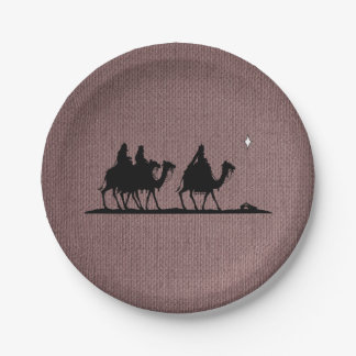Three Wise Men Paper Plate