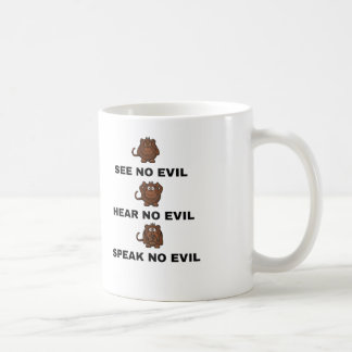 Three Wise Monkeys Cups / Mugs