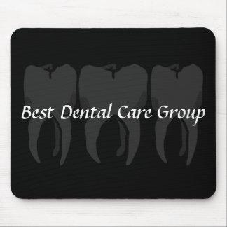 Three Wise Teeth Dentist Mouse Pad