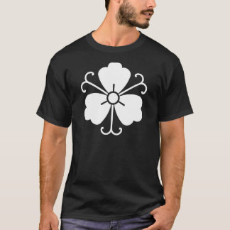 Three wisteria blooms with vines T-Shirt
