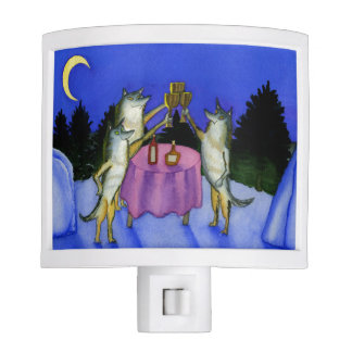 Three Wolves Night Light