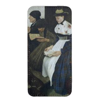 Three Women in Church, 1882 iPhone Pouch