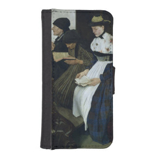 Three Women in Church, 1882 iPhone 5 Wallet Case