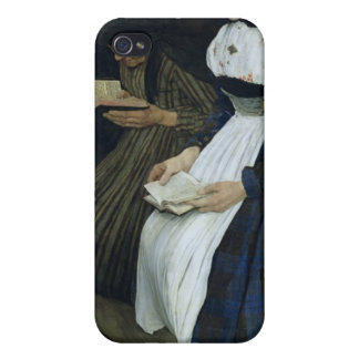 Three Women in Church, 1882 iPhone 4 Cover