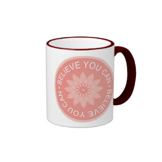 Three Word Quotes ~Believe You Can~ Coffee Mug