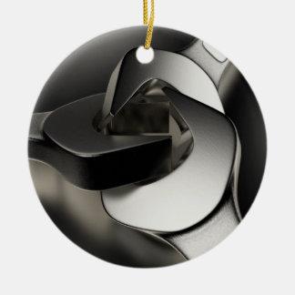Three Wrenches Ceramic Ornament