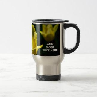 Three Yellow Tulips Travel Mug