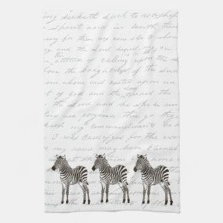 Three Zebras Kitchen Towel